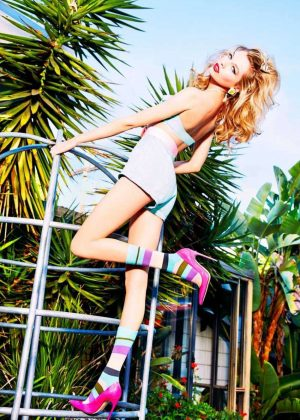 Stella Maxwell - Happy Socks Fall Campaign 2016