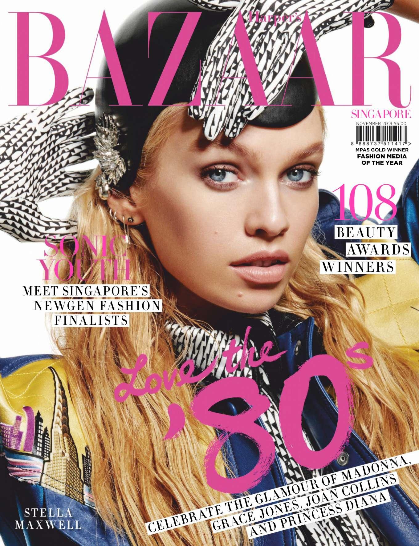 Stella Maxwell 2019 : Stella Maxwell – Harpers Bazaar Singapore 2019-08