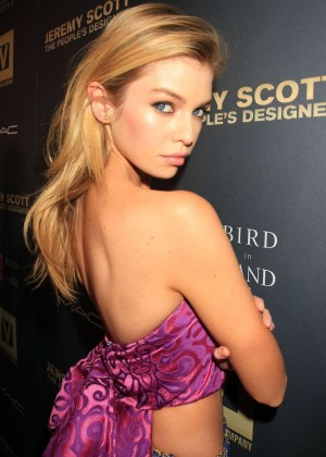 Stella Maxwell - 'Jeremy Scott: The People's Designer' Premiere in NY