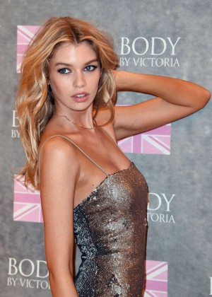 Stella Maxwell - Launches 'Body by Victoria' Collection in London