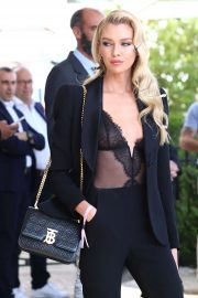 Stella Maxwell - Leaving the Martinez Hotel in Cannes