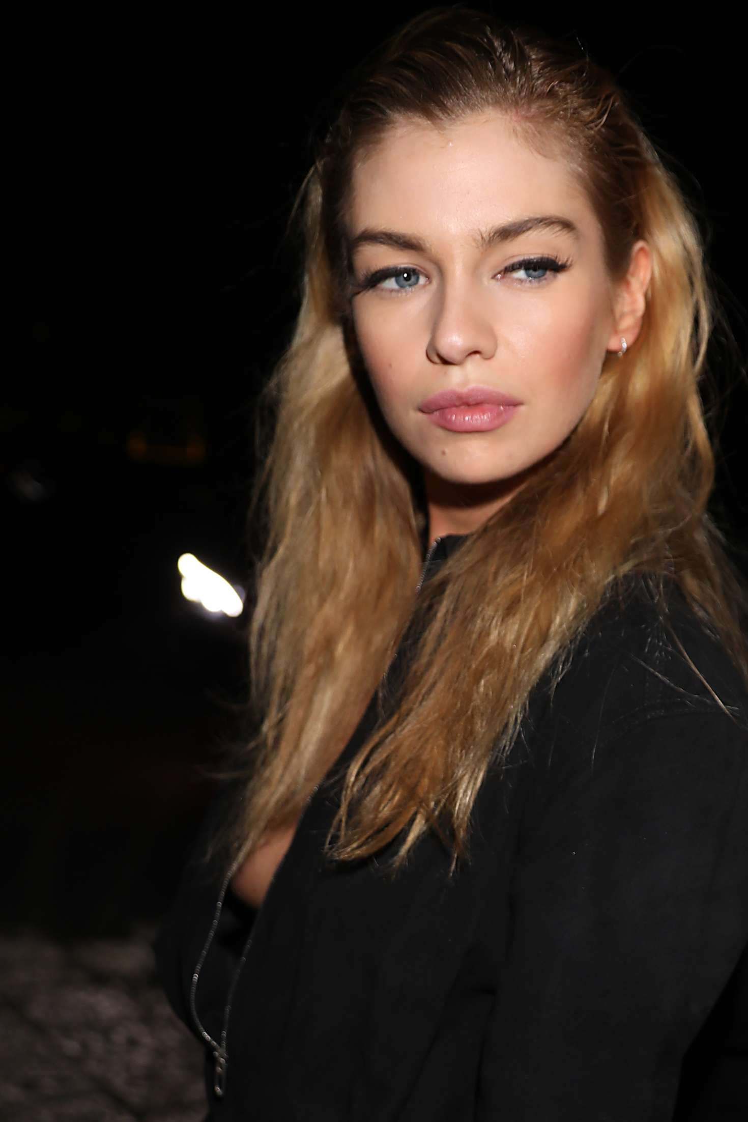 Stella Maxwell 2018 : Stella Maxwell: Leaving the Moschino Show in Milan -06