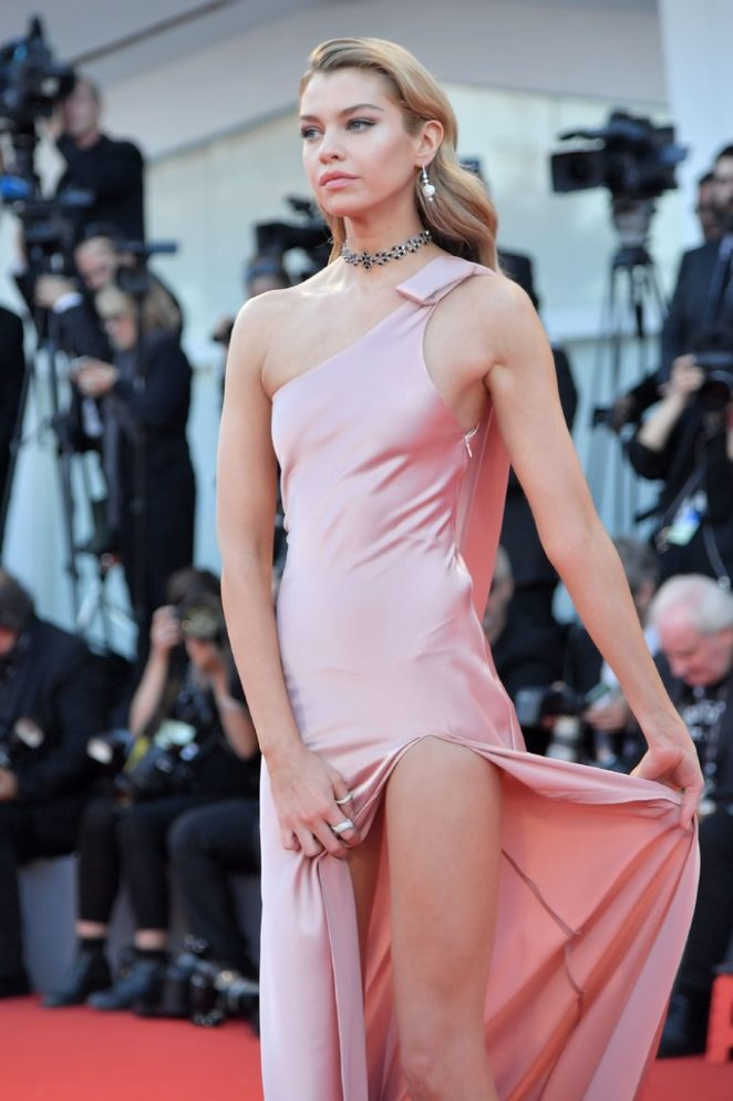 Stella Maxwell - Mother! premiere at 2017 Venice Festival