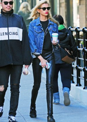 Stella Maxwell - Out and about in New York City