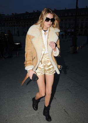 Stella Maxwell out and about in Paris