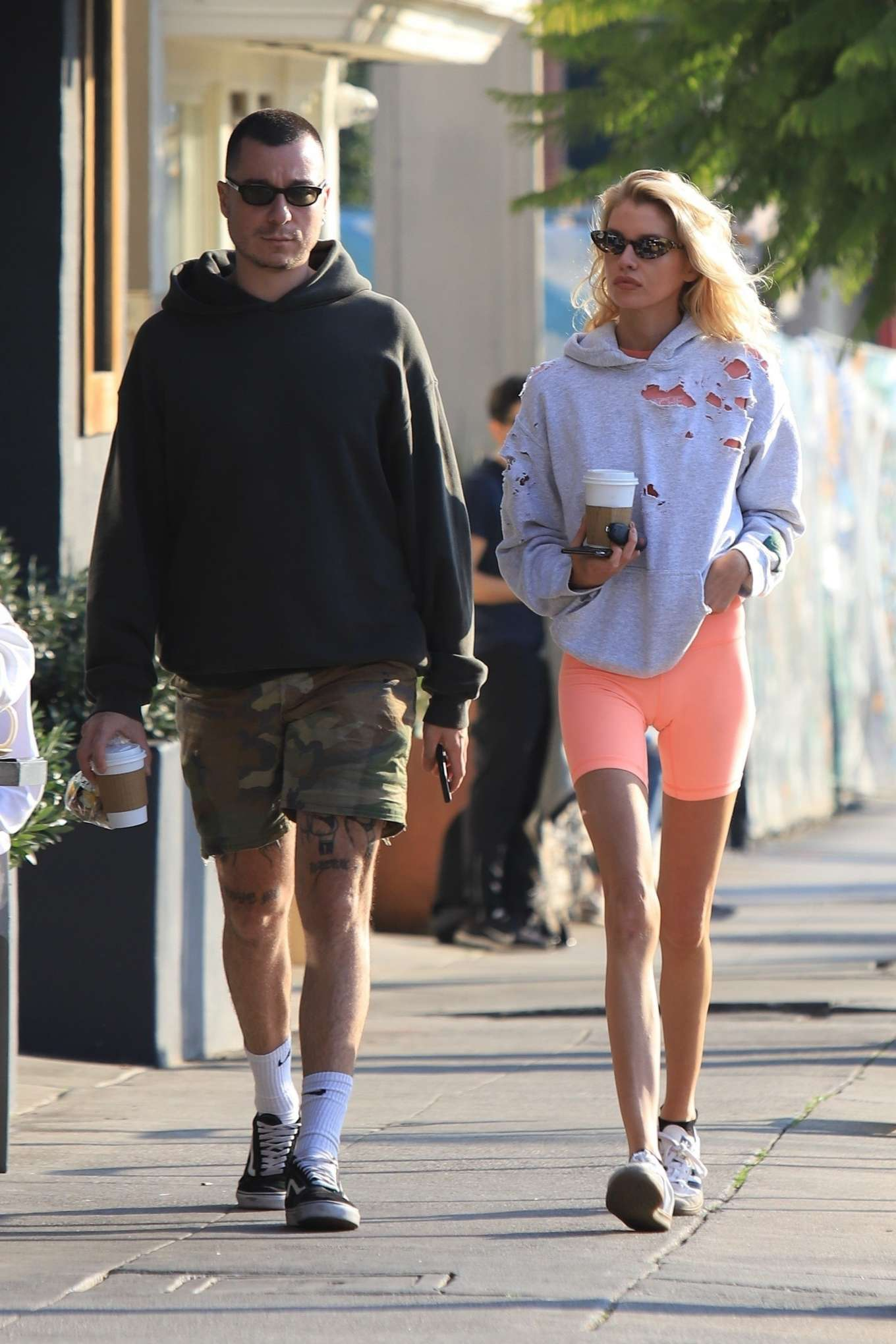 Stella Maxwell 2020 : Stella Maxwell – Out for coffee in Los Angeles-08