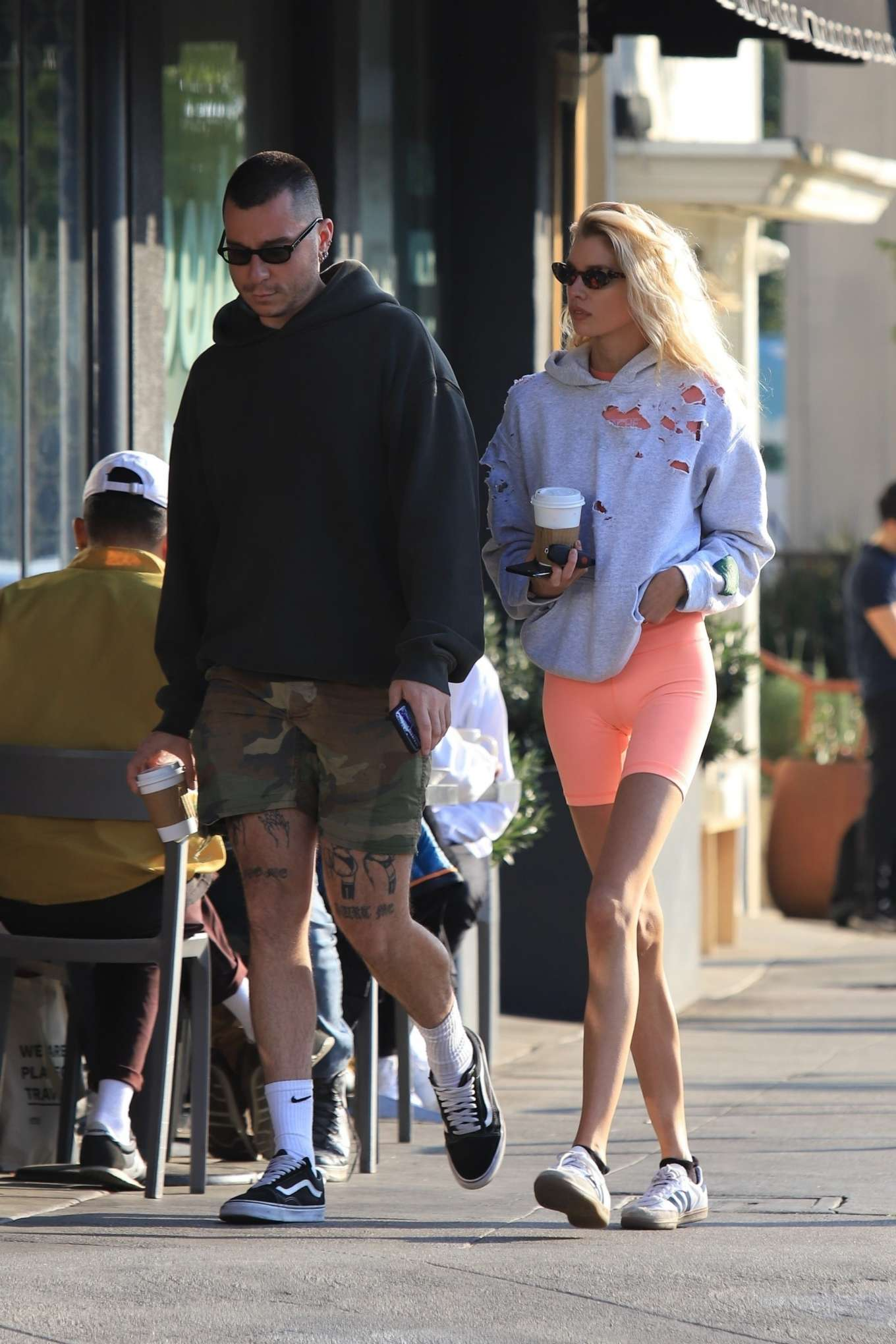 Stella Maxwell 2020 : Stella Maxwell – Out for coffee in Los Angeles-12
