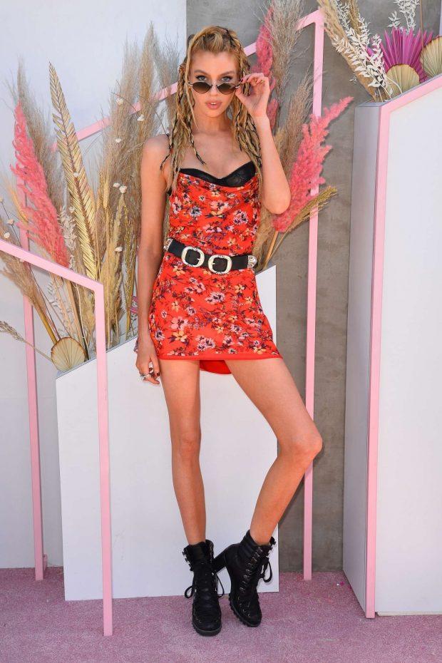 Stella Maxwell: Revolve Party at Coachella -08