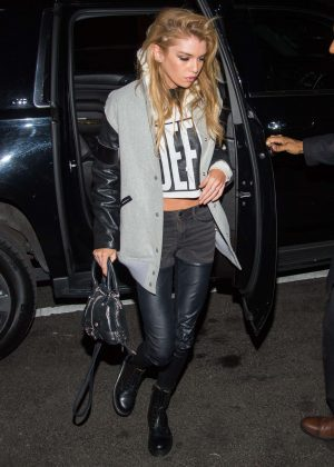 Stella Maxwell - SNL after party at STK Midtown in New York City
