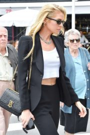 Stella Maxwell - Spotted out in Cannes