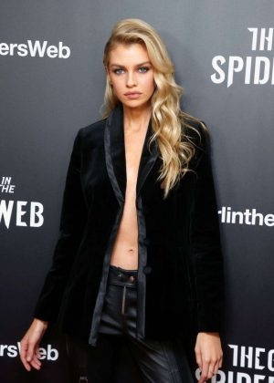 Stella Maxwell - 'The Girl in The Spider's Web' Screening in New York