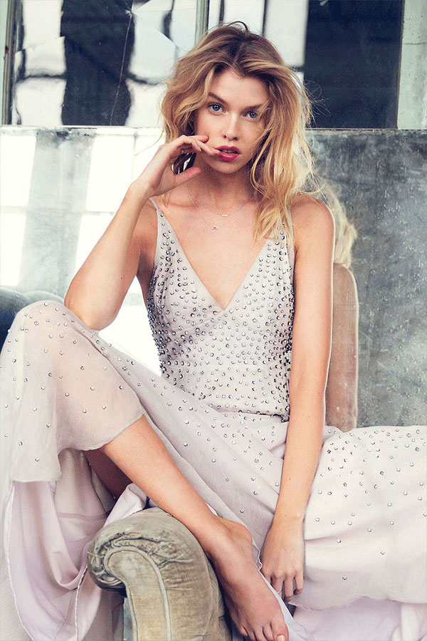 Stella Maxwell - Urban Outfitters Holiday 2015 Campaign