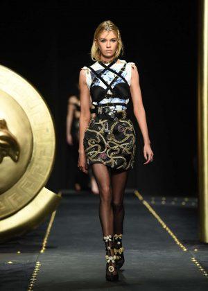 Stella Maxwell - Versace Runway Show in Milan