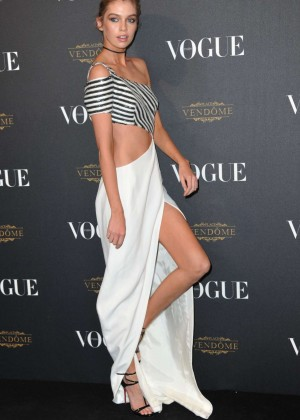 Stella Maxwell - Vogue 95th Anniversary Party in Paris