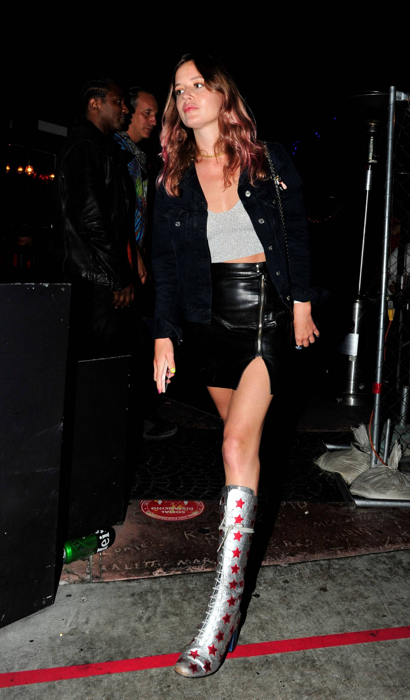Stella Maxwell - With Georgia May Jagger party at the Rainbow Bar and Grill in West Hollywood