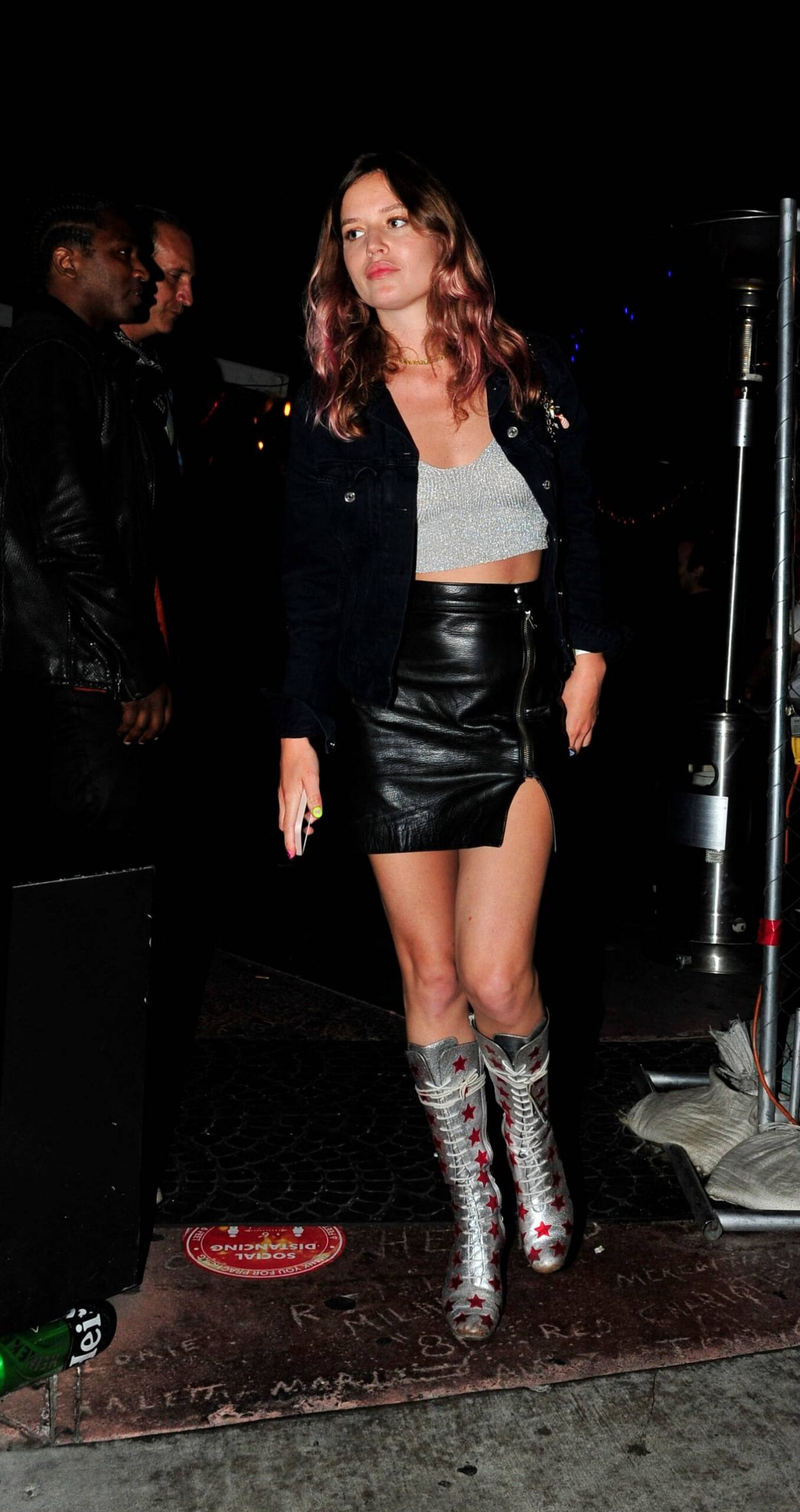 Stella Maxwell 2021 : Stella Maxwell – With Georgia May Jagger party at the Rainbow Bar and Grill in West Hollywood-12