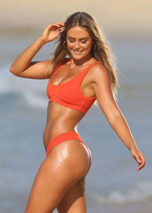 Steph Claire Smith in Bikini - Photoshoot on Bondi Beach in Sydney