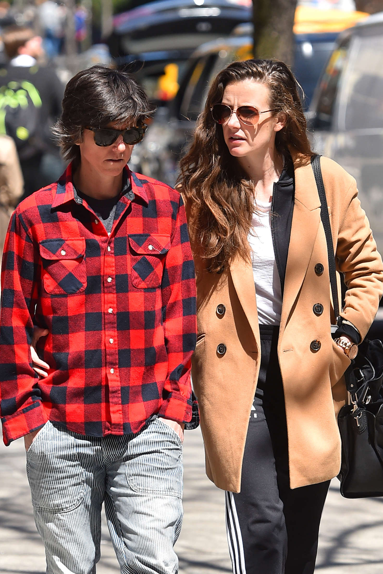 Stephanie Allynne and Tig Notaro out in New York