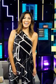 Stephanie Beatriz - on 'A Little Late with Lilly Singh' show in Hollywood