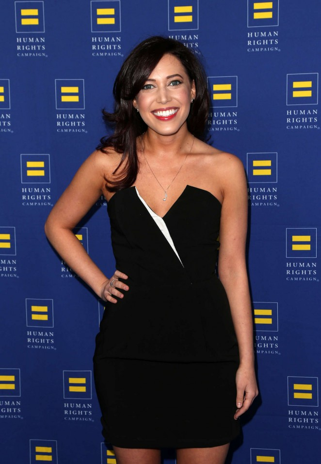 Stephanie Frosch - Human Rights Campaign 2016 Gala Dinner in Los Angeles