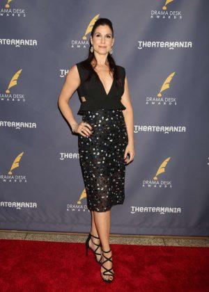 Stephanie J. Block - 2017 Drama Desk Awards in New York