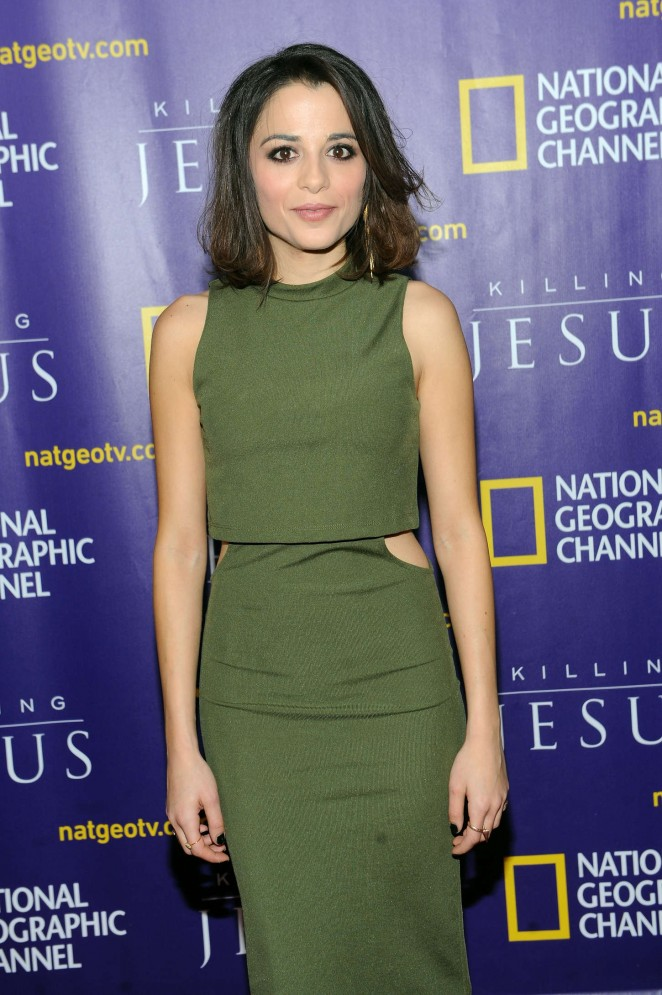 "Stephanie Leonidas - ""Killing Jesus"" Premiere in NY"