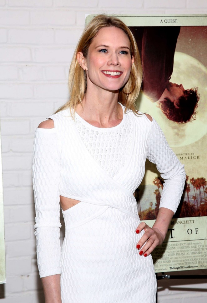 Stephanie March - 'Knight of Cups' Screening in New York