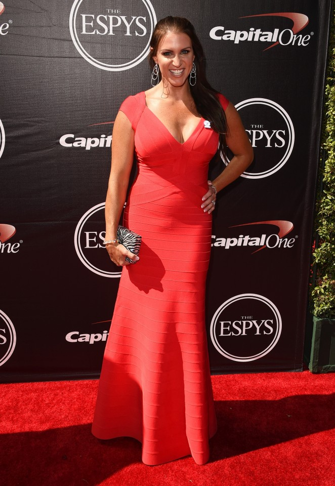 Stephanie McMahon - 2015 ESPYS in Los Angeles