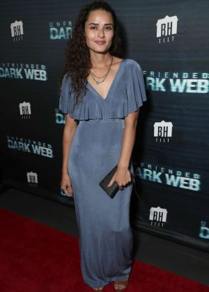 Stephanie Nogueras - 'Unfriended Dark Web' Premiere in Los Angeles