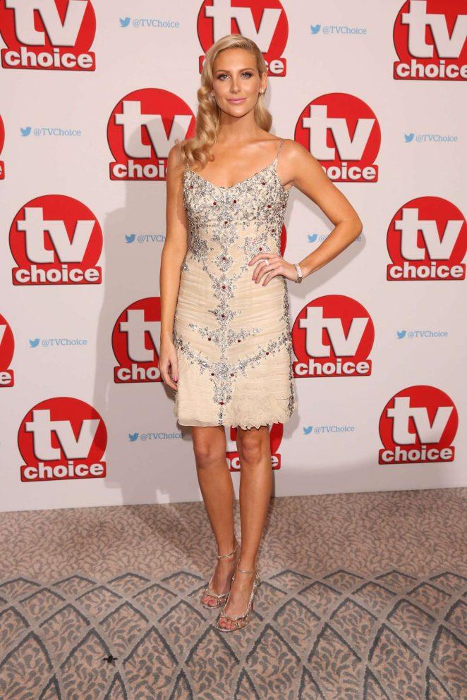 Stephanie Pratt - 2016 TVChoice Awards in London