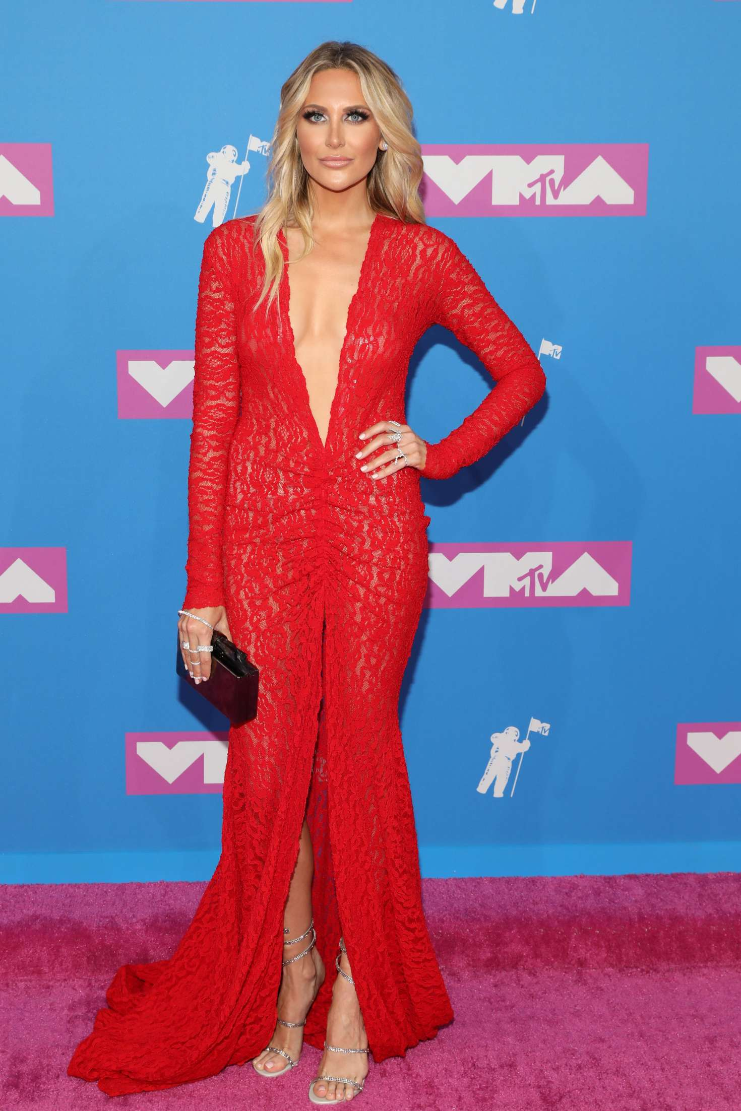 Stephanie Pratt - 2018 MTV Video Music Awards in New York City