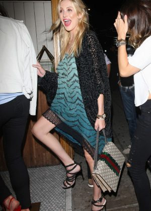 Stephanie Pratt at Nice Guy Club in West Hollywood