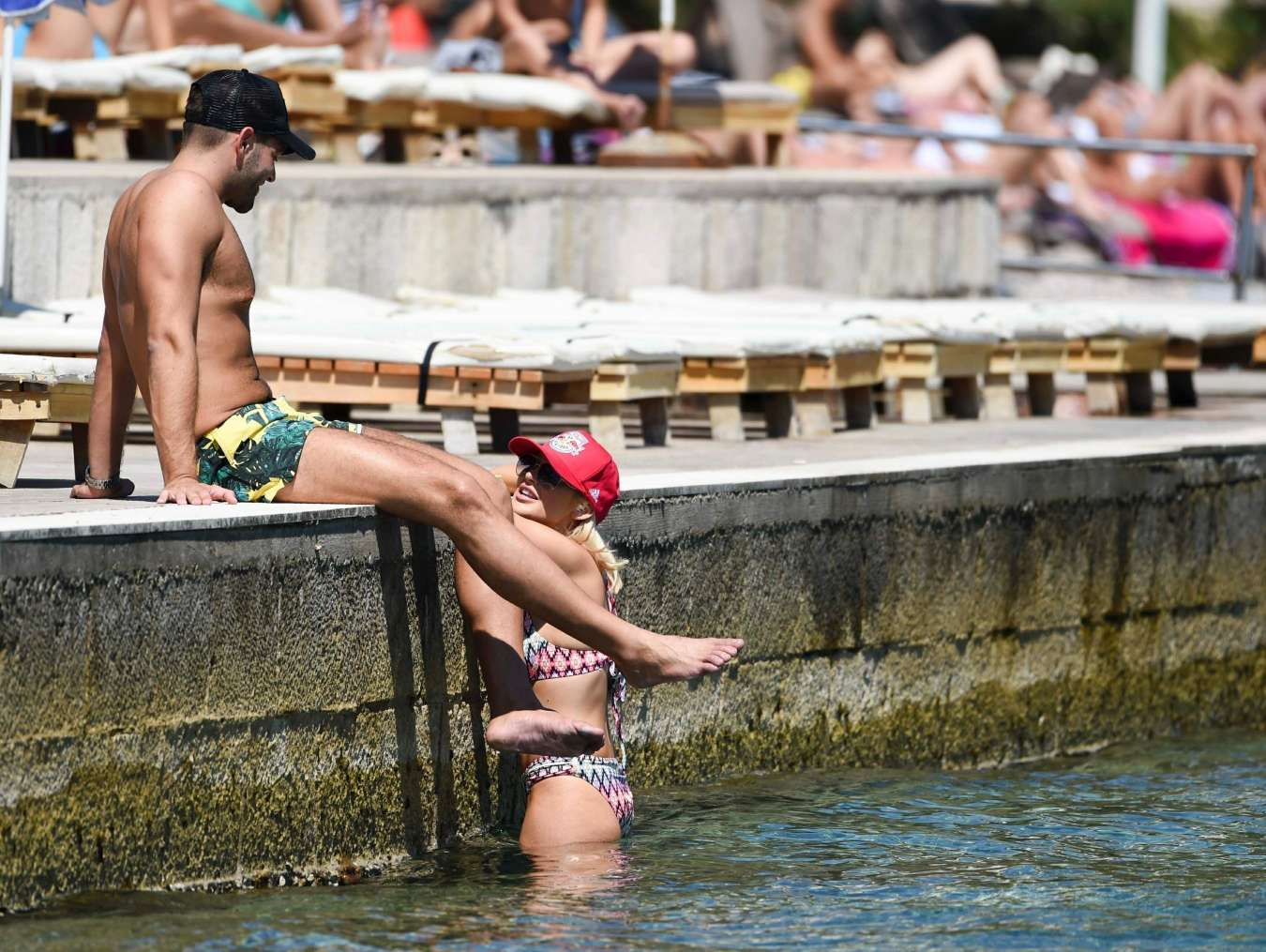 Stephanie Pratt 2017 : Stephanie Pratt: Bikini on holiday in Croatia -03