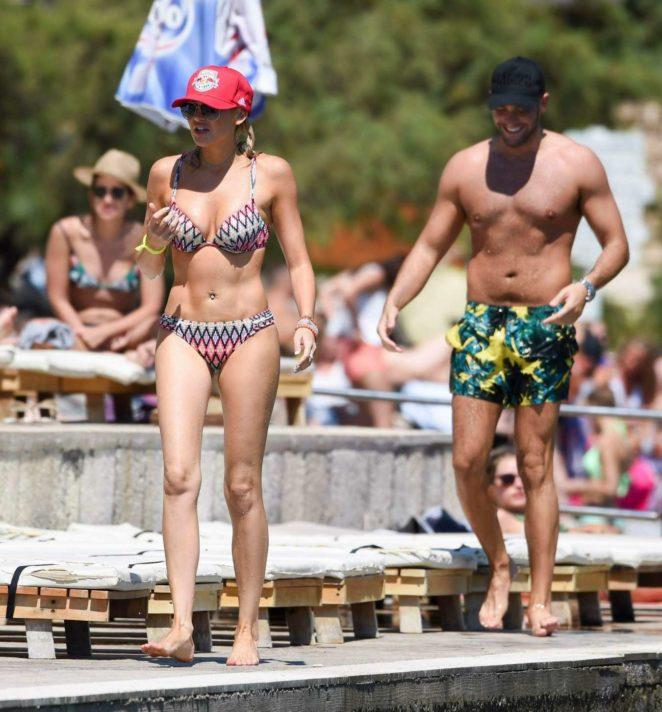 Stephanie Pratt 2017 : Stephanie Pratt: Bikini on holiday in Croatia -05