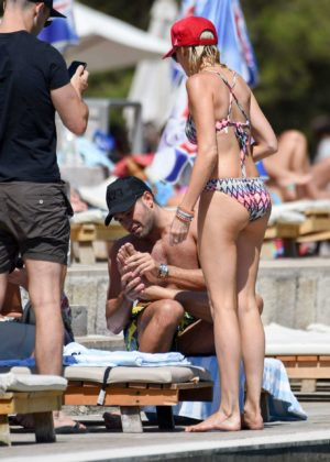Stephanie Pratt - Bikini on holiday in Croatia