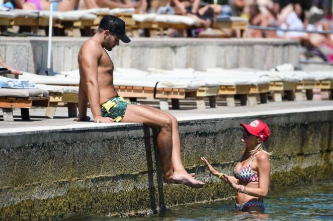 Stephanie Pratt: Bikini on holiday in Croatia -09