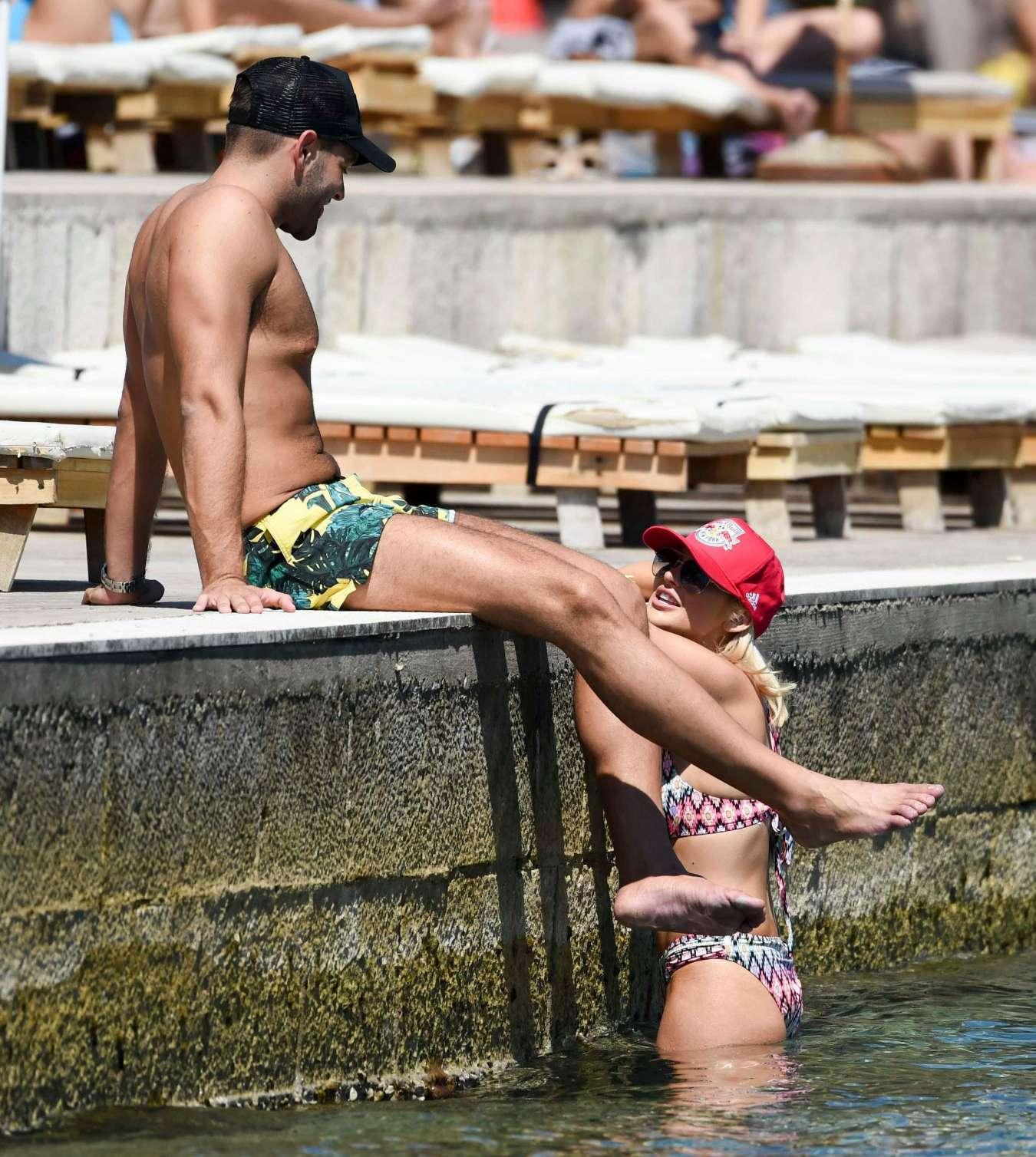 Stephanie Pratt 2017 : Stephanie Pratt: Bikini on holiday in Croatia -11