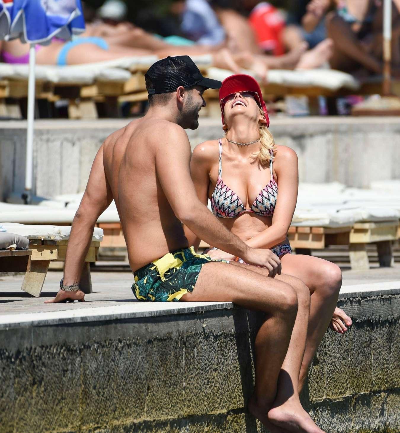 Stephanie Pratt 2017 : Stephanie Pratt: Bikini on holiday in Croatia -14