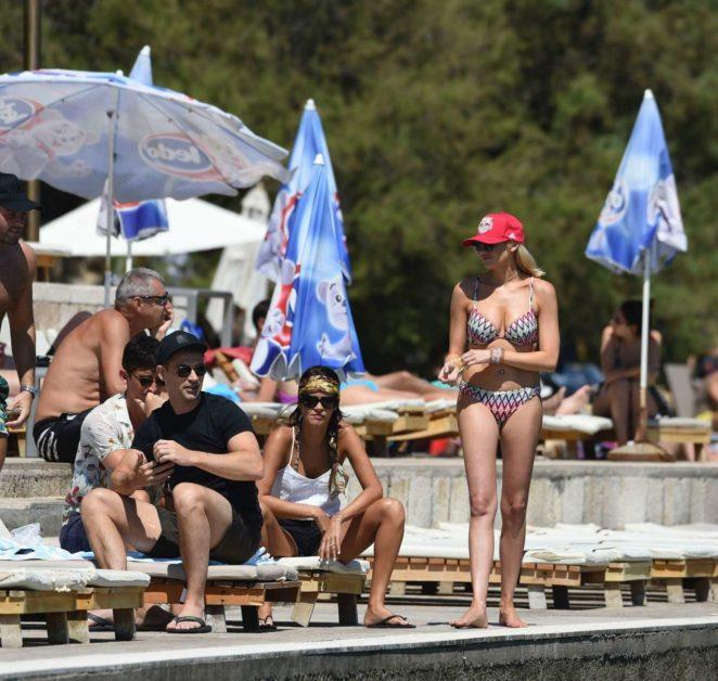 Stephanie Pratt 2017 : Stephanie Pratt: Bikini on holiday in Croatia -16