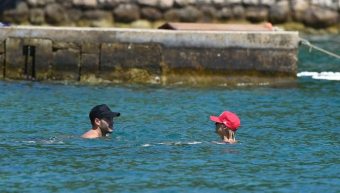 Stephanie Pratt: Bikini on holiday in Croatia -19