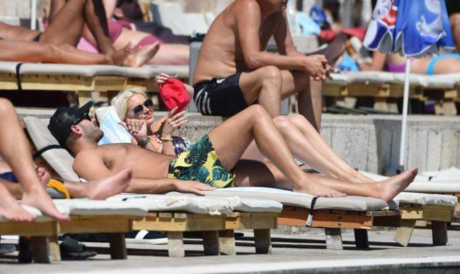 Stephanie Pratt: Bikini on holiday in Croatia -21