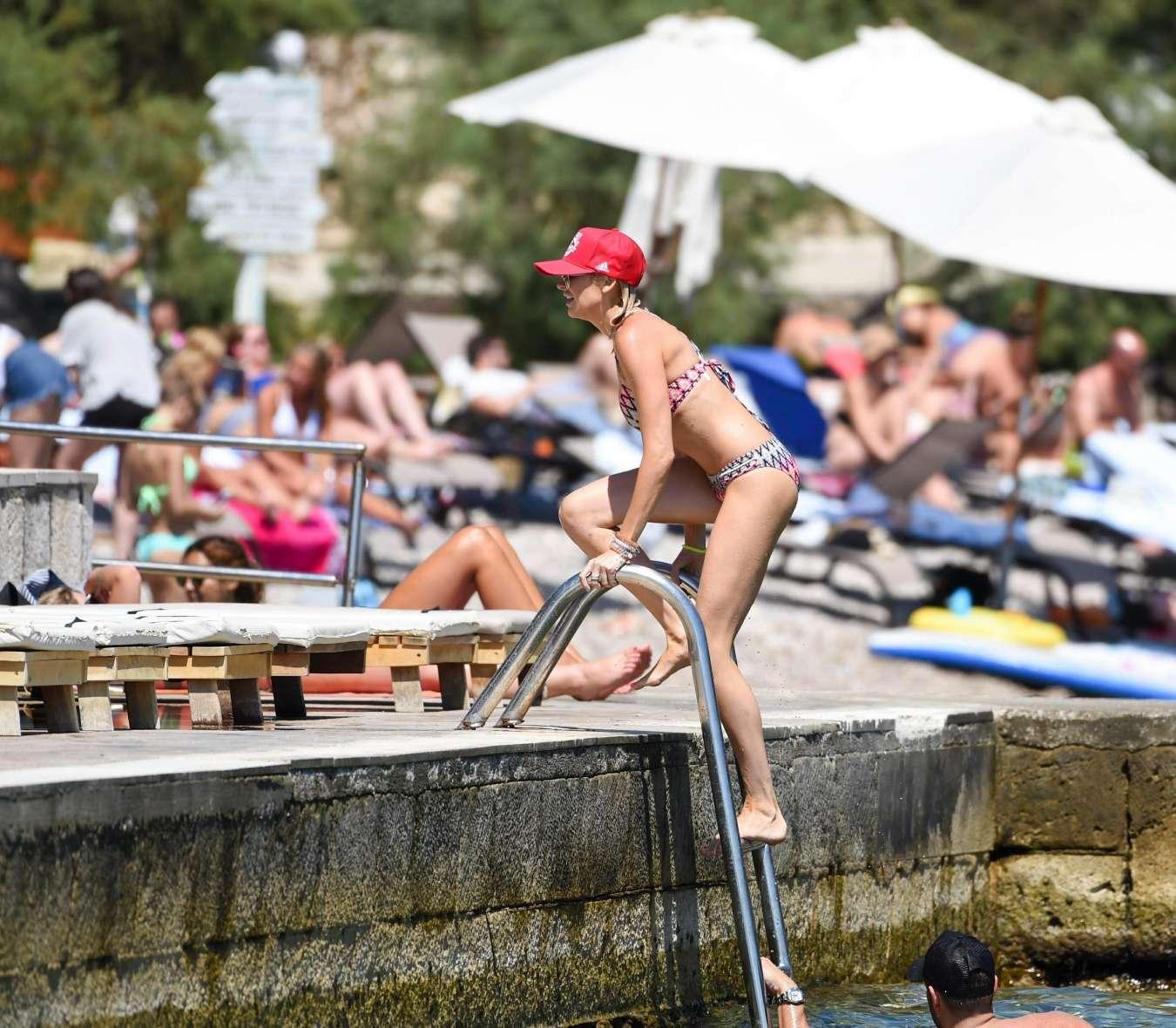 Stephanie Pratt 2017 : Stephanie Pratt: Bikini on holiday in Croatia -26