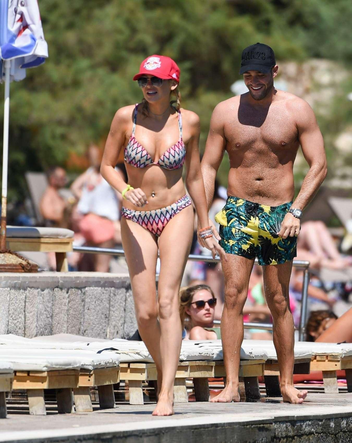 Stephanie Pratt 2017 : Stephanie Pratt: Bikini on holiday in Croatia -29