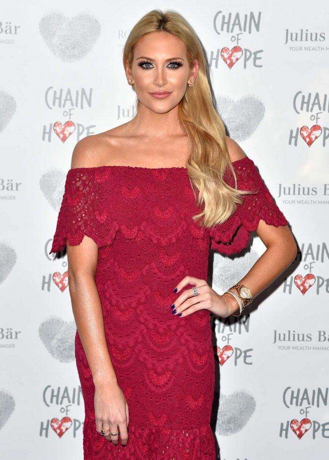 Stephanie Pratt - Chain Of Hope Annual Gala Ball 2016 in London