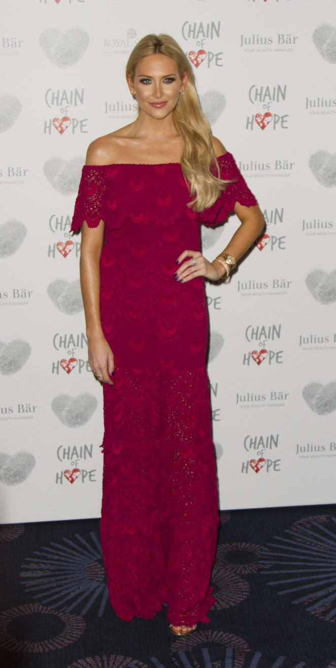 Stephanie Pratt: Chain Of Hope Annual Gala Ball 2016 -12