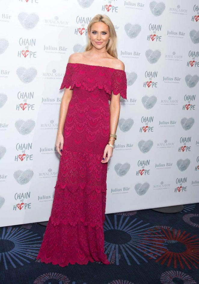 Stephanie Pratt: Chain Of Hope Annual Gala Ball 2016 -21
