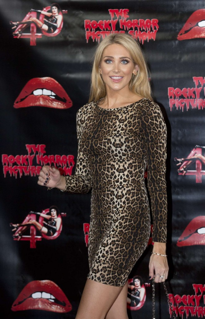 Stephanie Pratt - The Rocky Horror Picture Show: 40th Anniversary Screening in London