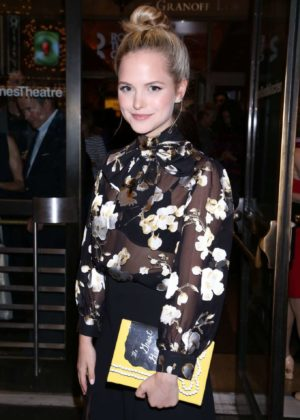 Stephanie Styles - Time And The Conways Opening Night in New York