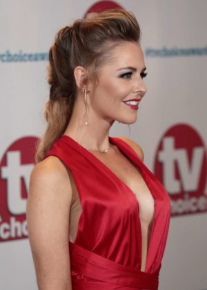 Stephanie Waring - 2017 TV Choice Awards in London