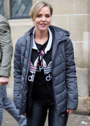Stephanie Waring at ITV Studios in London